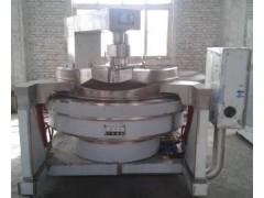 自动化带搅拌测温功能燃气炒料机